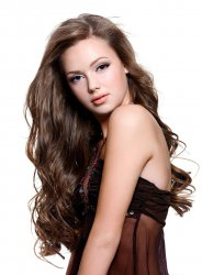 #8 Brun, 70 cm, Clip-on Extensions